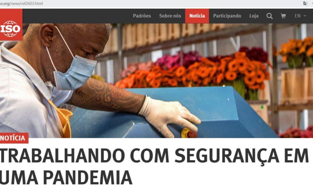 ISO acaba de publicar a ISO/PAS 45005:2020 – Diretrizes gerais para um trabalho seguro durante a pandemia COVID-19